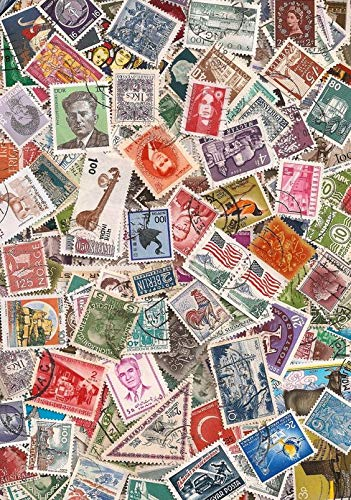 Packet of 500 Different Collectable Worldwide Stamps