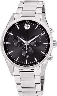 Stratus Quartz Movement Black Dial Men's Watch 607247