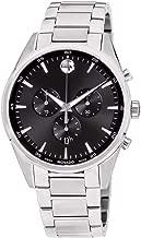 Movado Stratus Quartz Movement Black Dial Men's Watch 607247