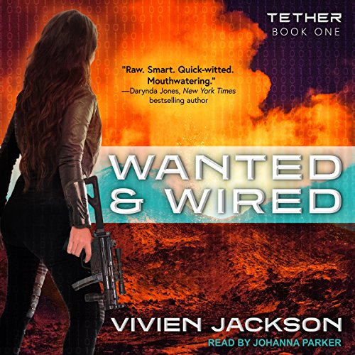 Wanted and Wired audiobook cover art