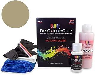 Dr. ColorChip Jeep Wrangler Automobile Paint - Light Khaki Metallic JC/PJC - Road Rash Kit