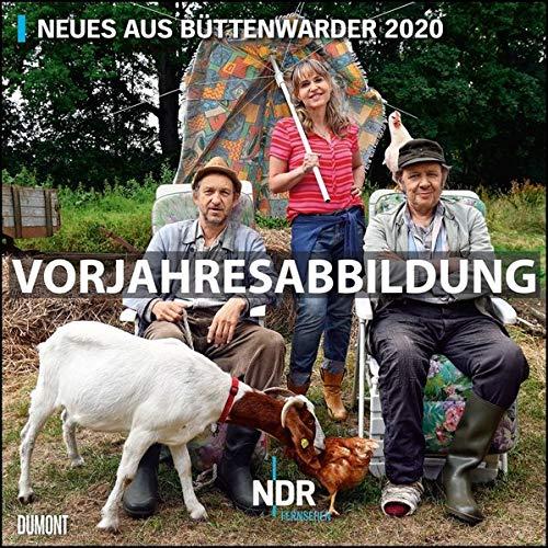 Neues aus Büttenwarder 2021 - Broschürenkalender - Wandkalender - Format 30 x 30 cm