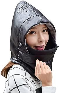 Waterproof Mask Warm Fleece Hood