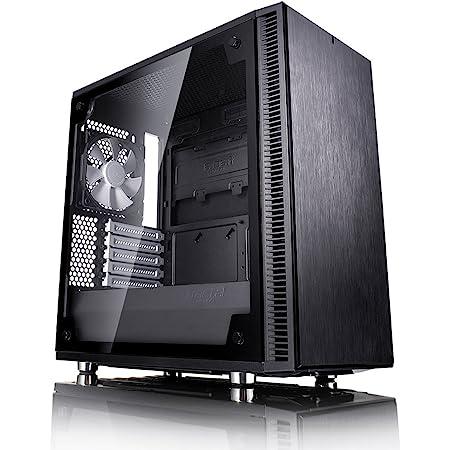 Fractal Design Define Mini C Black Tempered Glass ミニタワー型PCケース CS6890 FD-CA-DEF-MINI-C-BK-TG