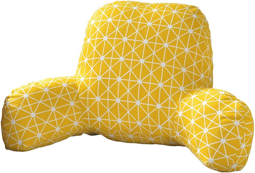 vctops Bohemian Printed Bed Rest Popular product Su Stuffed Pillows Sitting Award-winning store Soft
