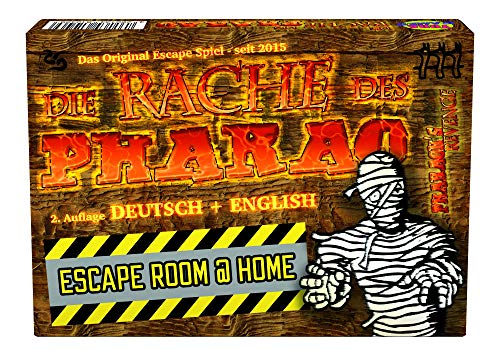 Die Rache des Pharao, Escape Room Spiel, für 1-6 Spieler ab 12 Jahren