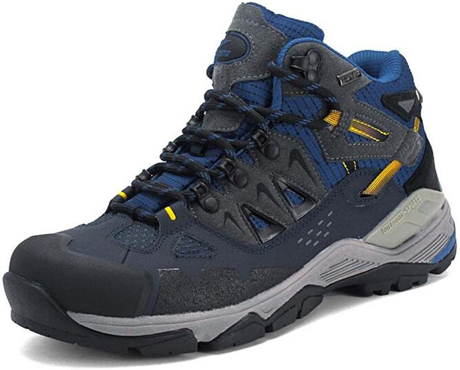 Mens spring outdoor hiking and climbing shoes durable non-slip breathable and comfortable to wear