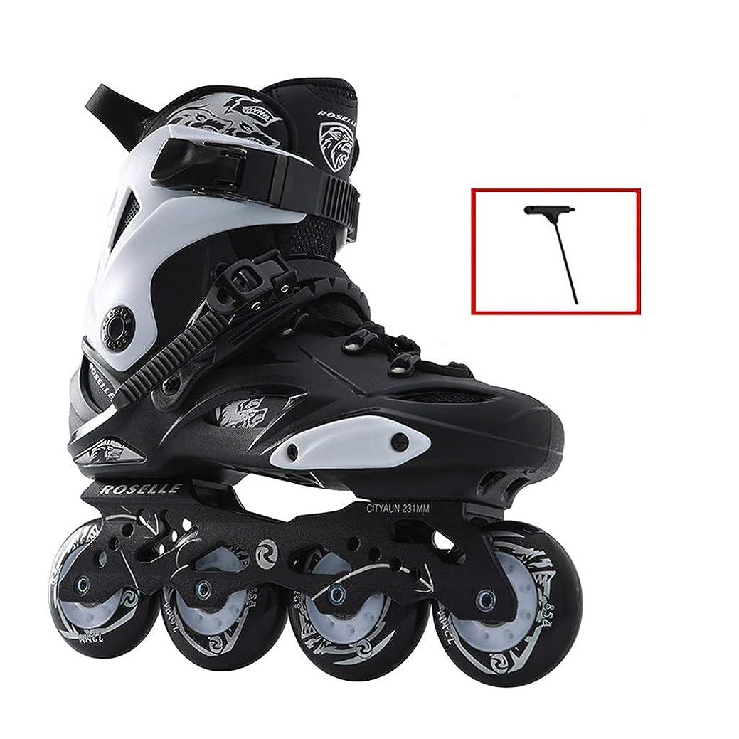ブルーム低下石灰岩Ailj インラインスケート 高性能インラインスケート、インラインスケート、初心者向けローラースケート、3色 高構成プロスケート靴 (Color : A, Size : EU 36/US 4.5/UK 3.5/JP 23cm)