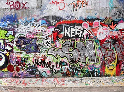 wandmotiv24 Carta da parati Graffiti 3 Größe: 350 x 260 cm...