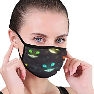 Unisex Cheshire Cat Mouth Face Mask Anti Flu Reusable Air Fog Half For Men Running Warm Surgical Cover