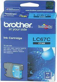 Brother Ink Cartridge, Cyan [lc67c]