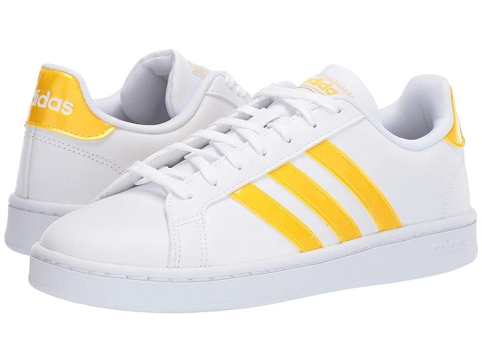 adidas Grand Court (White/Bold Gold/White) Women