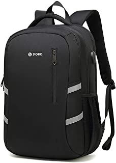 赵凯 School Bag Cute School Bag Student Bag Shoulder Bag Computer Backpack Business Men Bag Large Capacity Backpack Traveling Backpack (Color : Black)