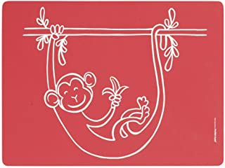 Modern Twist Meal Mat Silicone Placemat by Until - Color: Red