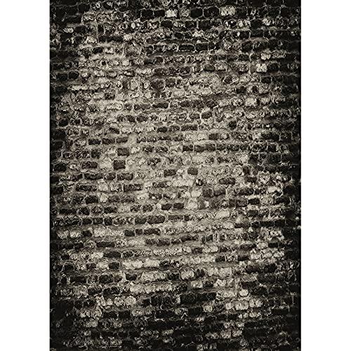 Vinilo personalizado vintage ladrillo pared fotografía fondos piso madera fondo estudio Prop A1 2.1x1.5m