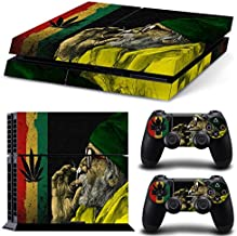 FriendlyTomato PS4 Console and DualShock 4 Controller Skin Set - Weed Marijuana 420 - PlayStation 4 Vinyl