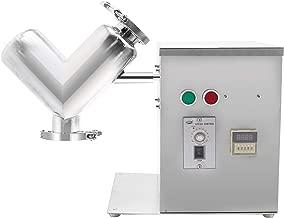 MXBAOHENG V Type Powder Mixer Mixing Blender Blending Machine 2L VH-2 0.55 KW (110V)
