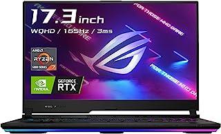 ASUS ゲーミングノートパソコン ROG Strix SCAR 17 G733QS(AMD Ryzen7 5800H/16GB・512GB/RTX 3080 Laptop GPU/WQHD/165Hz/17.3インチ/英語光学メカニカルキーボ...
