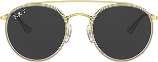 Rb3647n Double Bridge Round Sunglasses