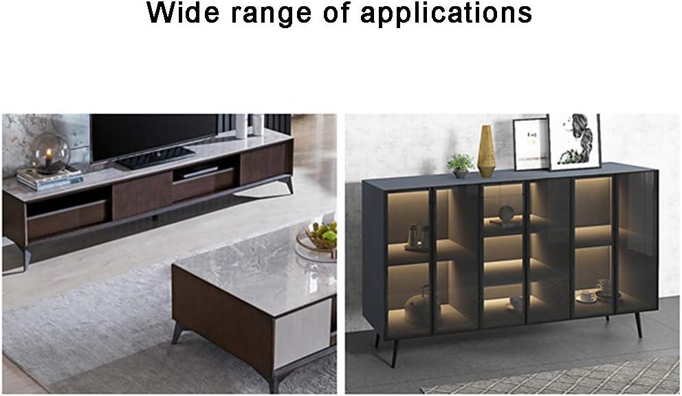 20cm 30cm Patas de soporte para muebles Patas de gabinete Patas de sof/á Patas de sof/á Patas de ba/ño 15cm 4 piezas 25cm Patas para muebles de cono oblicuo Negro 12cm 17cm