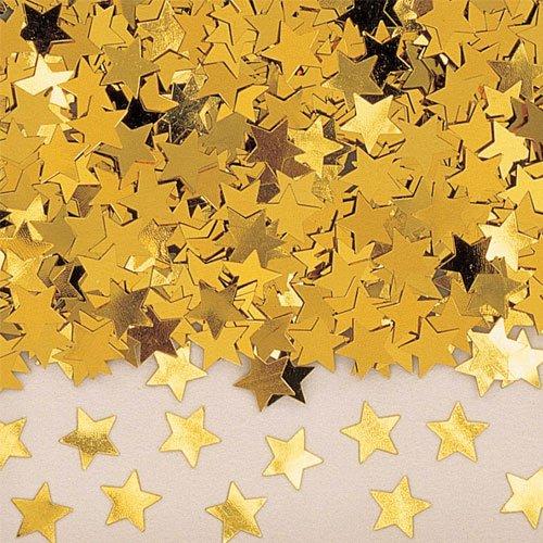 amscan 9900491 14 g Confettis métalliques Stardust