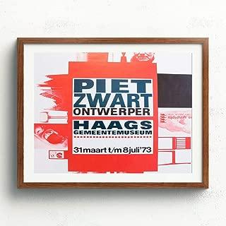Vintage Posters Piet Zwart (1973) Exhibition Print Artwork 100B - Professional Wall Art Merchandise - Dutch