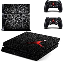 MagicSkin Vinyl Skin Sticker Cover Decal for Playstation 4 PS4 Console and Remote Controllers