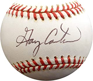Gary Carter Signed Auto NL Baseball New York Mets Montreal Expos - Beckett Authentic