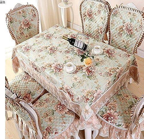 Europ che Tischtuch, Europ che Stuhl setzt, rechteckiger Couchtisch Tischdecken, Stuhl setzt,130180CM