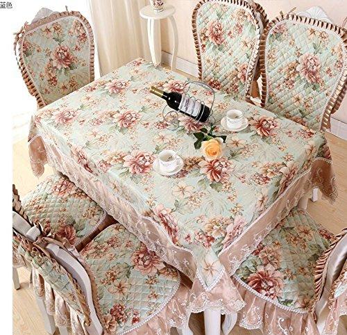 tissu europ¨¦en de table, jeux de chaise europ¨¦ennes, rectangulaires nappes de table ¨¤ caf¨¦, jeux de chaise,150*200CM