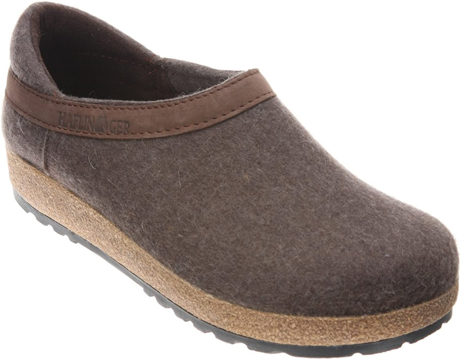 Haflinger Grizzly Clog closed Back