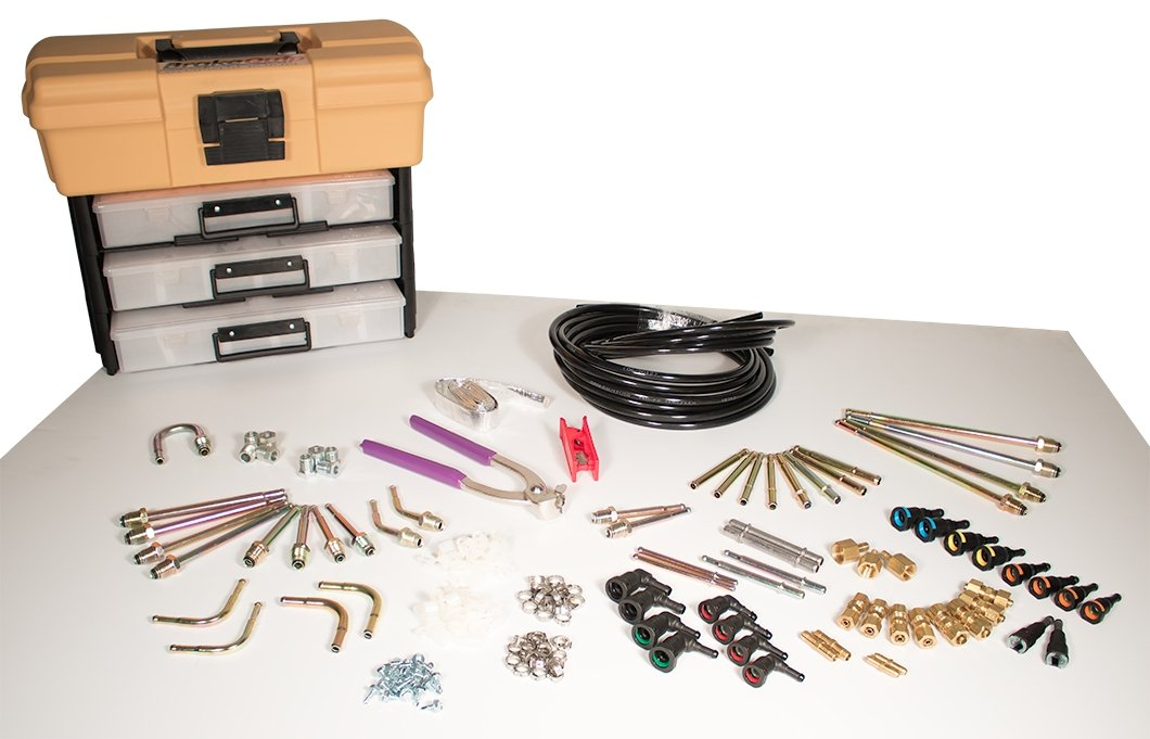 BrakeQuip BQFL4500 Professional Fuel Line Kit