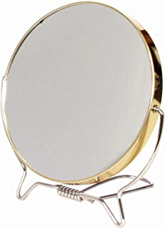 Reflections X7 Shave Mirror, 12 cm Diameter, Gold