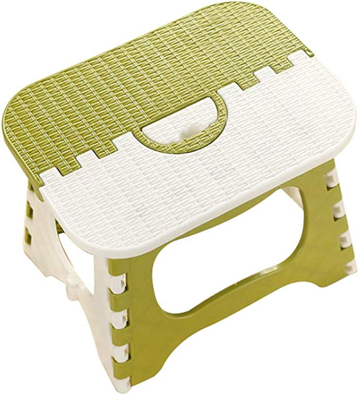 Fine Folding Step Stool Lightweight Plastic Step Stool Foldable Step Stool For Kids And Adults Non Slip Folding Stools For Kitchen Bathroom Bedroom