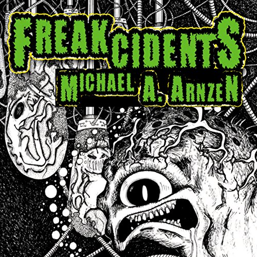 Freakcidents audiobook cover art