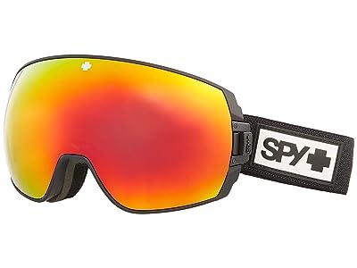 Spy Optic Legacy (Matte Black Hd Plus Bronze w/ Red Spectra Mirror + Hd Plus Ll) Snow Goggles
