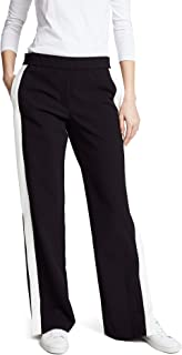 Theory Women's Wide Leg Pull on Snap Pant