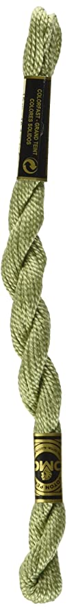 DMC 115 3-3053 Pearl Cotton Thread, Green/Grey