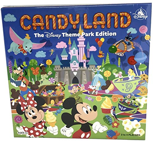 Disney Parks Candyland Theme Park Edition Game