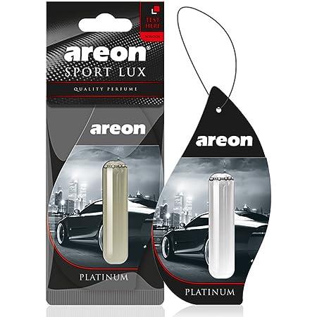 Areon Liquid Auto Parfüm Sport Lux Platin Autoduft Hängend Duftflakon Parfüm Flakon Lufterfrischer Aufhängen Anhänger Spiegel 5ml Schwarz 3d Platinum Pack X 1 Auto