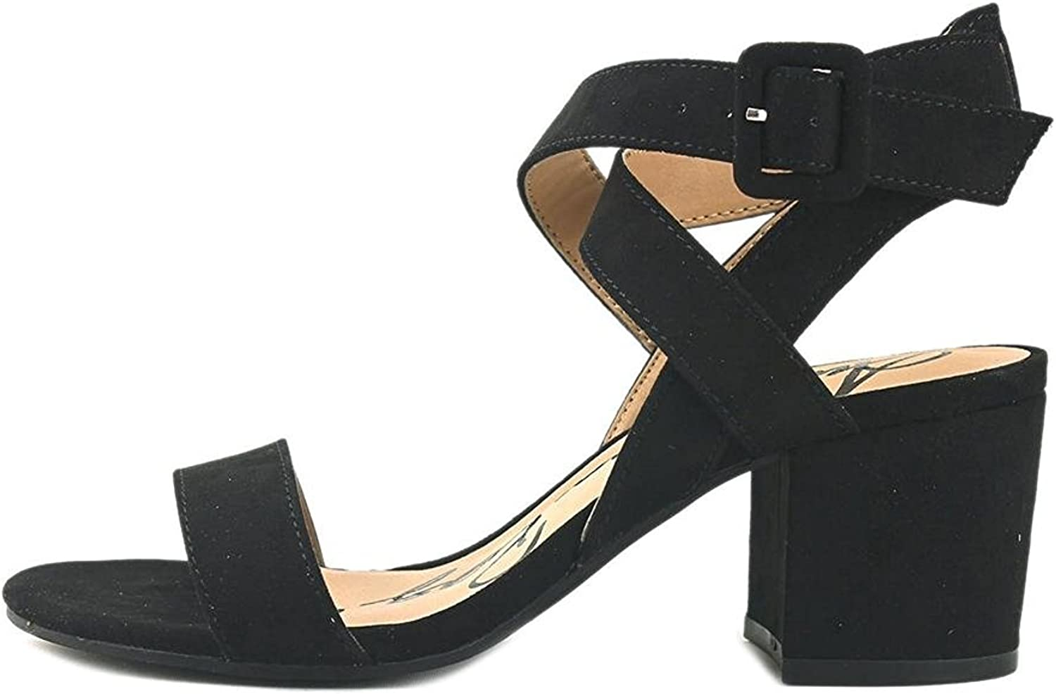 American Rag Womens Caelie Open Toe Casual Slingback Sandals, Black, Size 9.5