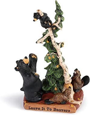 DEMDACO Leave It to Beavers Midnight Black 10 x 5 Resin Stone Collectible Figurine