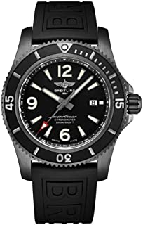 Superocean Waterproof 2000 Meters, Black Steel, Black Dial, 46mm Watch