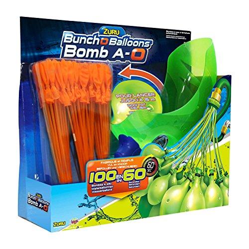 Splash Toys 31114 - Original Bunch O Balloon Wasserbomben Set (inkl. 3 Bündel mit je 36 Wasser-Bomben und Abschußgerät)