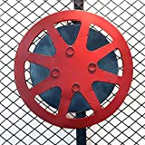LEDの色が変化するリモコンのナイトライトの色の雰囲気の寝室のライト AXXsクリエイティブ・フィルムエプロン錬鉄ティーショップコーヒーショップサイバーバー・ウォールミューラルペンダントトップジュエリー(レッド) USBランプキヤノンランプ (Color : Red)