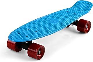 Deuba Skateboard 22' tavola Retro Kickboard Cruiser per Strada