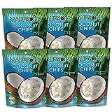 Maui&Sons Coconut Chips - 1.4 Oz (6 Bags)