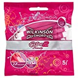 Wilkinson Sword Extra 2 Beauty Einwegrasierer Damen, 5 St, 2er Pack -