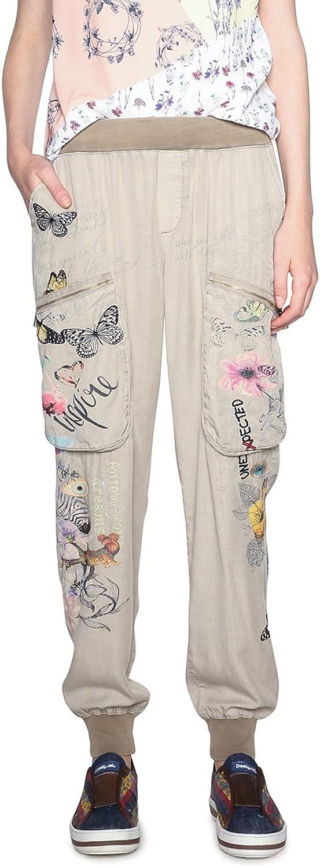 Desigual Womens Eddy Trousers Casual Pants