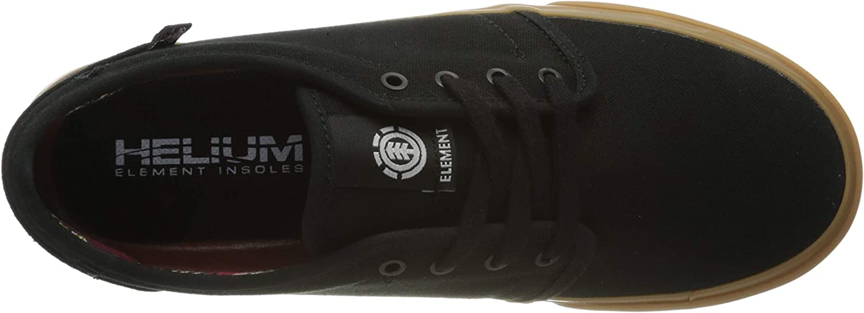 Element Baskets Homme Noir Black Gum 4298